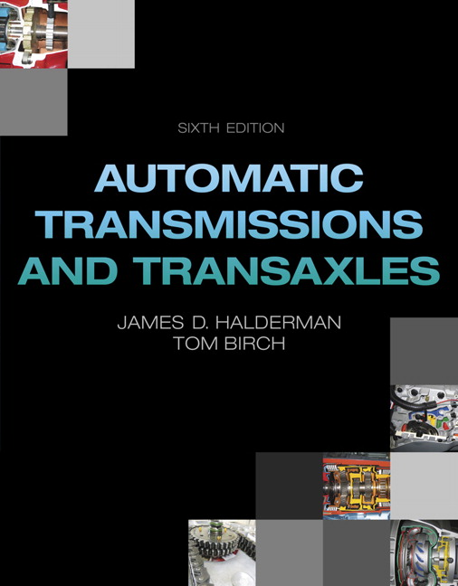 Automatic Transmissions and Transaxles, 6th Edition
