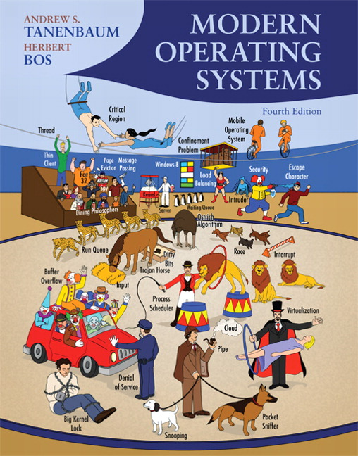 Tanenbaum bos modern operating systems 4th edition pearson book cover fandeluxe Image collections