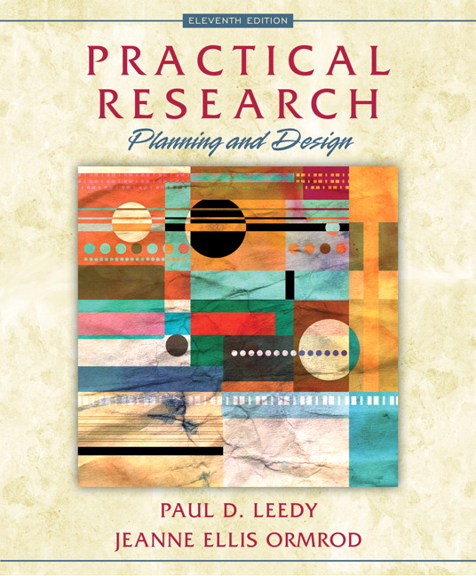 leedy ormrod practical research planning and design pearson