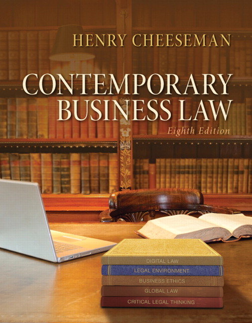 answers to business law 1 exam by henry chessman 9780754514329 0754514323 business, internet and the law - issue 1 october 2001  bk 3 - answers  syllabus version 8 - practice exam,.