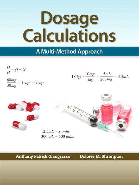 drug calculation Successful nurses must understand medical dosage calculation and safe medication administration ati's study program will help you master this important element of.
