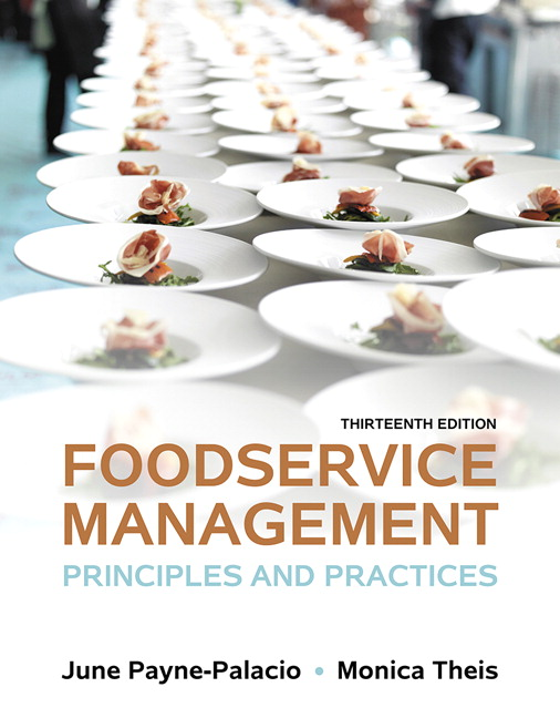 Payne palacio theis foodservice management principles and foodservice management principles and practices 13th edition fandeluxe Image collections