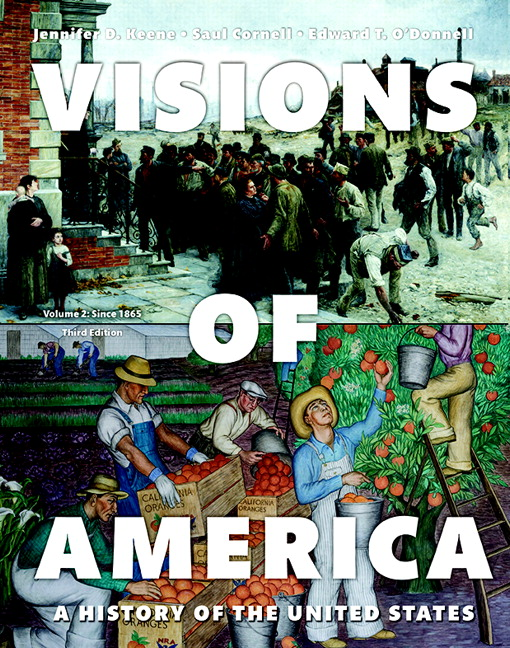 Visions of America: A History of the United States, Volume Two, 3rd Edition