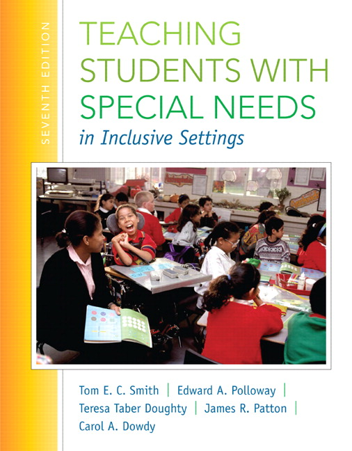 Teaching Students with Special Needs in Inclusive Settings, Enhanced Pearson eText with Loose-Leaf Version -- Access Card Package, 7th Edition