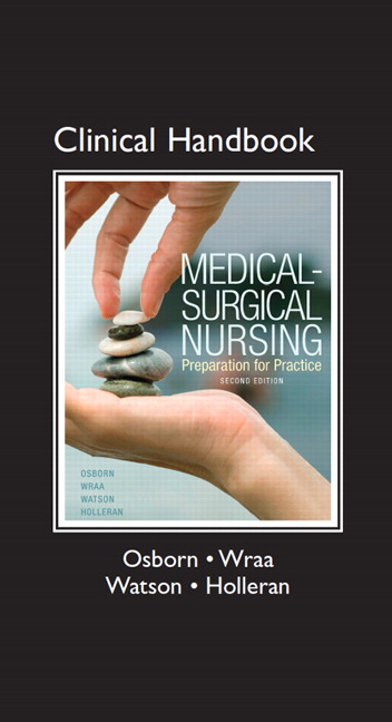 clinical manual of medicalsurgical nursing concepts clinical practice