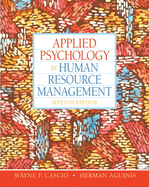 Industrial and Organizational Psychology Research and Practice 7th Edition