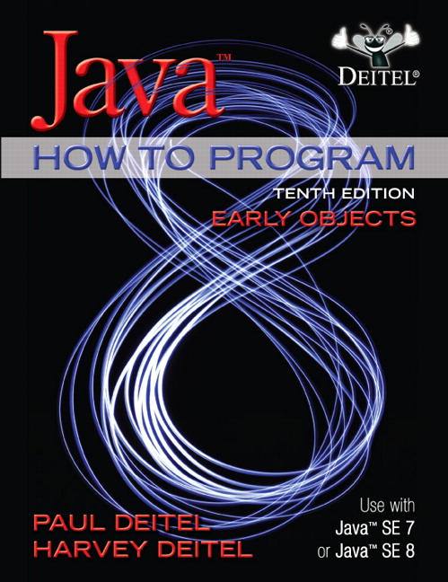 Deitel & Deitel, Java How To Program (Early Objects) | Pearson
