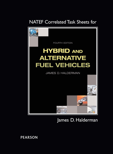 NATEF Correlated Task Sheets for Hybrid and Alternative Fuel Vehicles