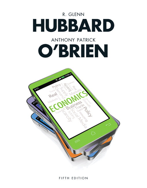 Hubbard obrien economics 6th edition pearson economics plus new mylab economics with pearson etext 2 semester access access card package 5th edition fandeluxe Image collections