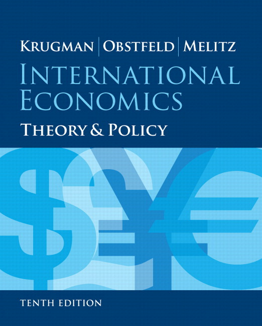 krugman obstfeld melitz international economics theory and