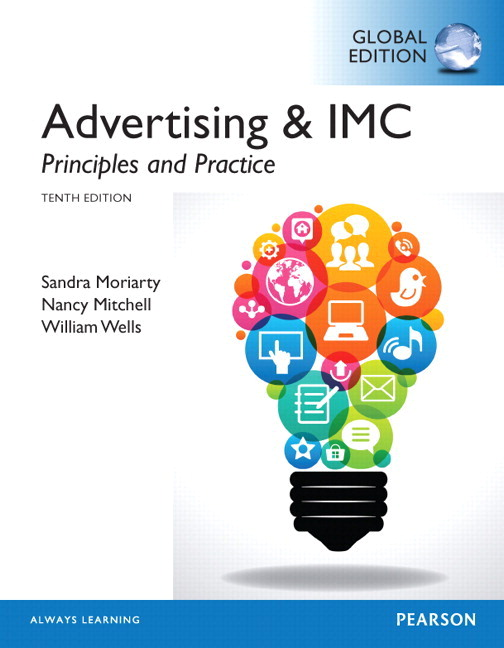 Moriarty mitchell wells advertising imc principles and advertising imc principles and practice subscription 10th edition fandeluxe Gallery