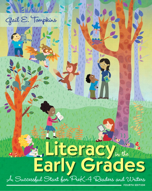 Tompkins literacy in the early grades a successful start for prek literacy in the early grades a successful start for prek 4 readers and writers fandeluxe Image collections