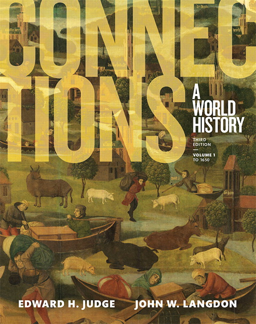 Judge langdon connections a world history volume 1 pearson book cover fandeluxe Image collections