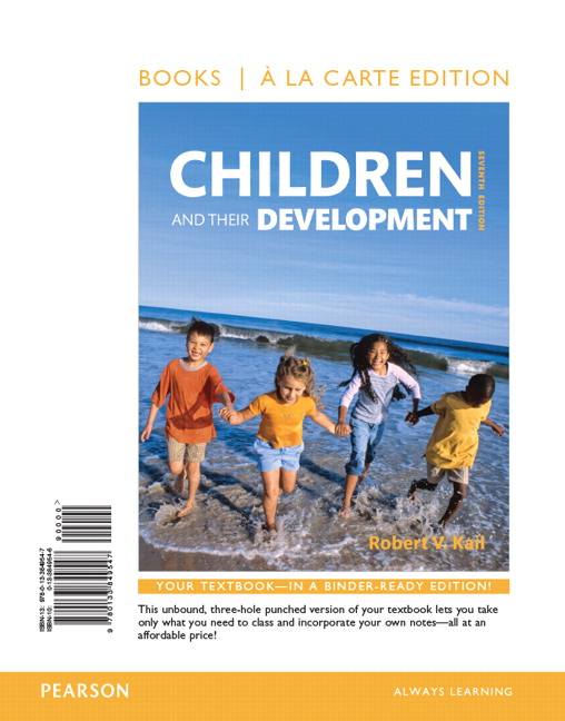 Arnett maynard child development through middle childhood a children and their development books a la carte edition 7th edition fandeluxe Gallery