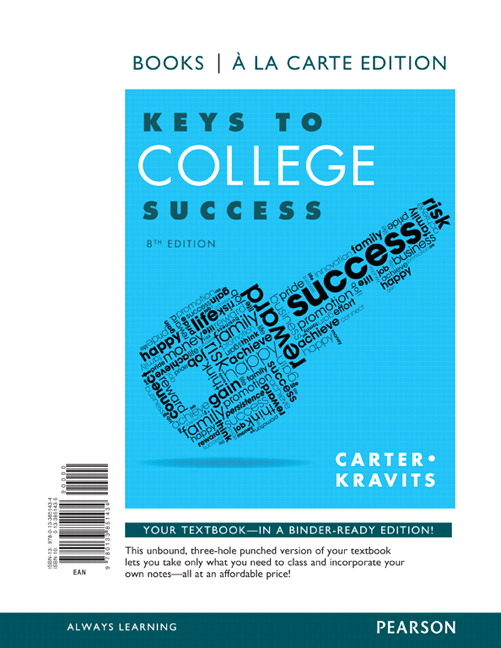 an overview of the keys to success in college It takes more than a major: employer priorities for college learning and student success: overview and key findings.