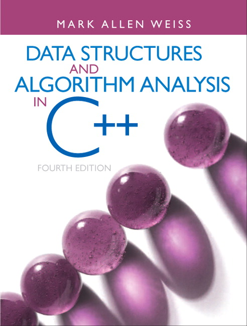 Data Structures and Algorithm Analysis in C++ (Subscription)