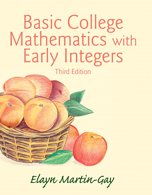 Basic College Mathematics with Early Integers