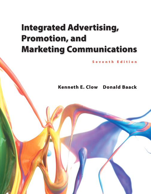 Clow baack integrated advertising promotion and marketing integrated advertising promotion and marketing communications fandeluxe Gallery