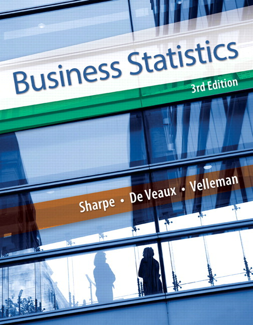 Business Statistics, Student Value Edition, 3rd Edition