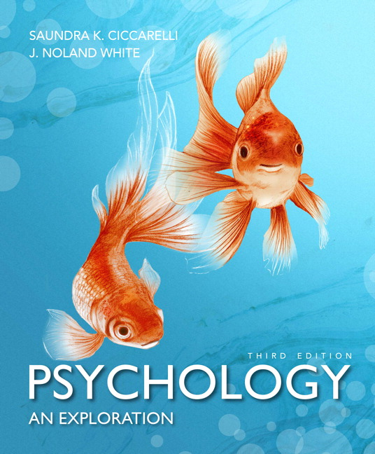 Ciccarelli White Psychology An Exploration 3rd Edition