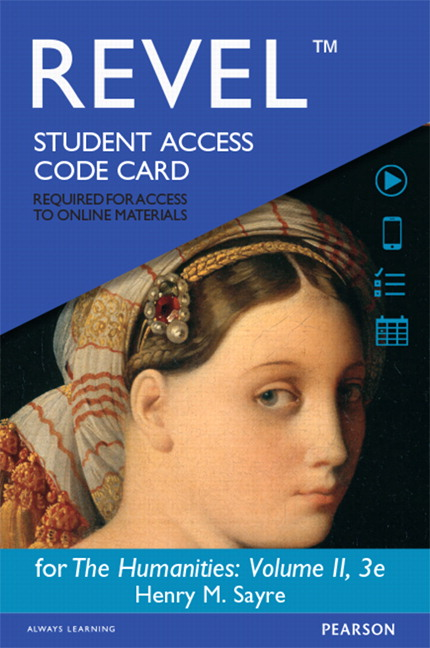 Introduction to humanities revel for the humanities volume ii access card 3rd edition fandeluxe Images