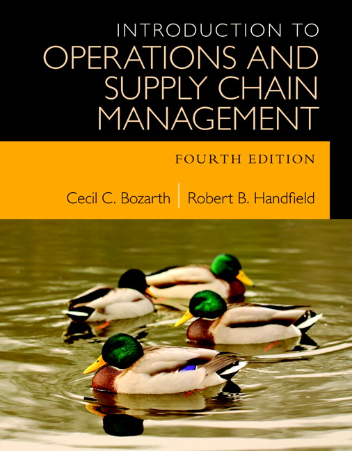 Bozarth handfield introduction to operations and supply chain introduction to operations and supply chain management subscription 4th edition fandeluxe Image collections