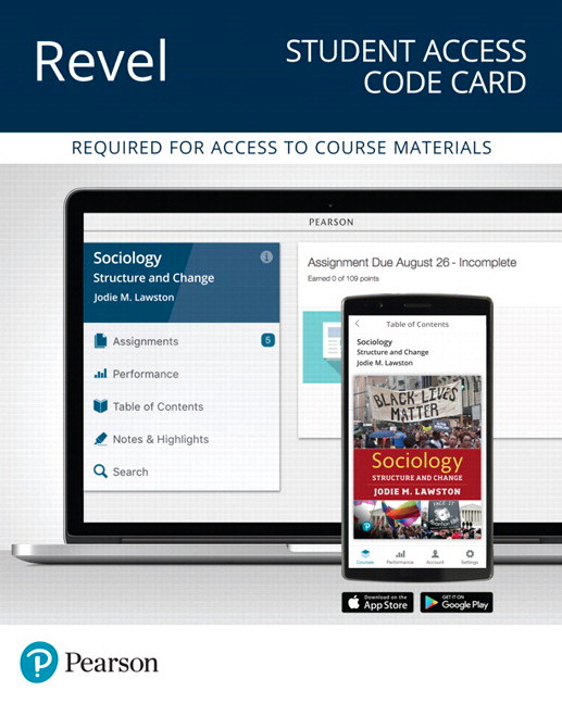 Revel for Sociology: Structure and Change -- Instant Access