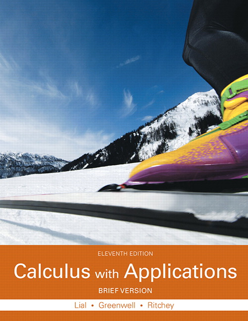 Calculus with Applications, Brief Version, 11th Edition