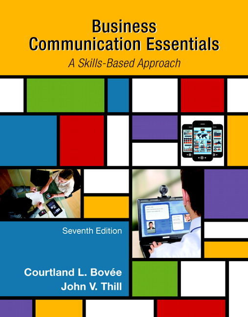 Bovee thill business communication essentials pearson business communication essentials student value edition 7th edition bovee thill fandeluxe Gallery