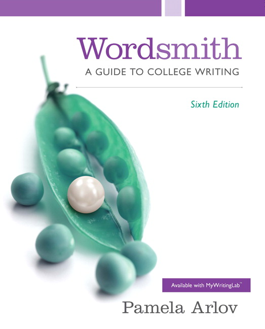 Arlov wordsmith a guide to college writing 6th edition pearson wordsmith a guide to college writing subscription 6th edition fandeluxe Choice Image