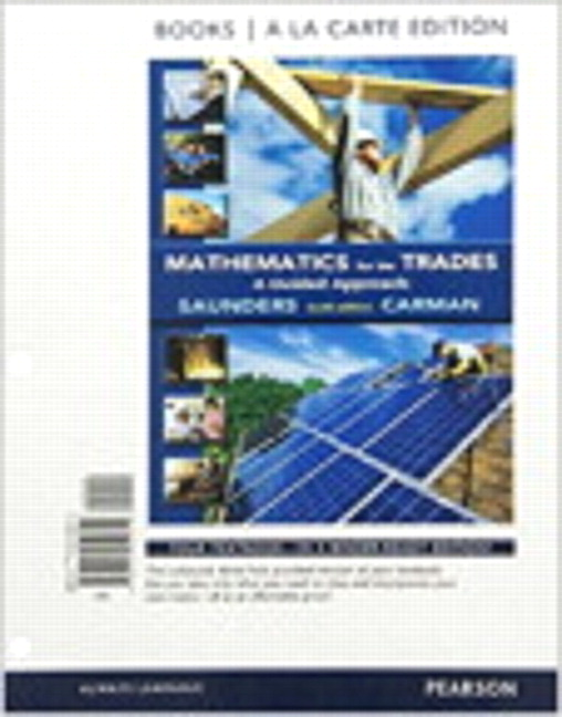 Carman saunders mathematics for the trades a guided approach book cover fandeluxe Choice Image