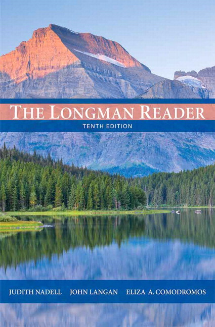 Nadell langan longman reader the 11th edition pearson previous editions fandeluxe Gallery