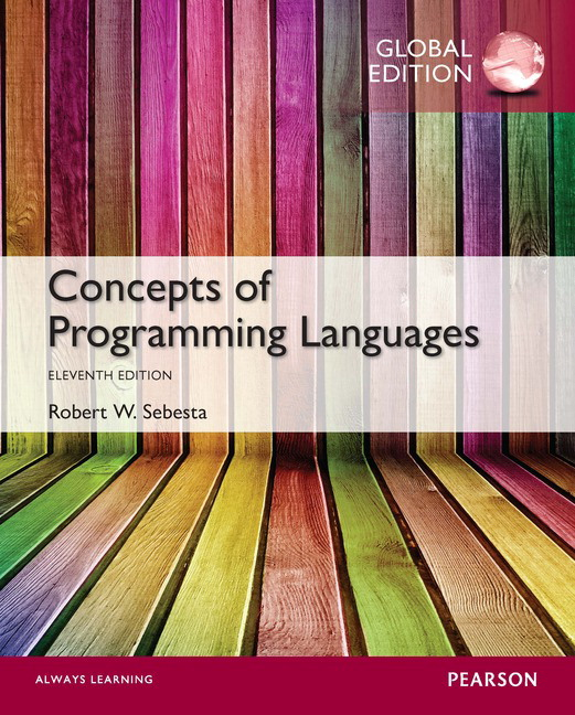 concepts of programming languages robert w sebesta solution manual