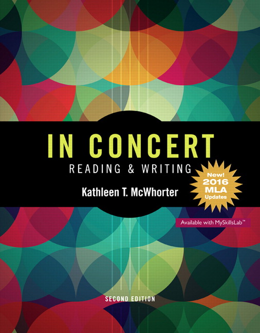 Mcwhorter in concert an integrated approach to reading and writing book cover fandeluxe Images