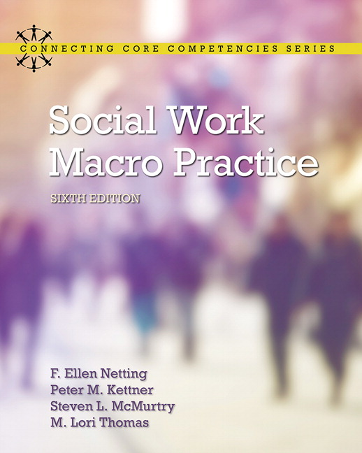 Social Work Macro Practice (Subscription)