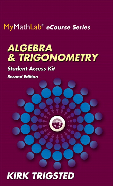MyLab Math for Trigsted Algebra & Trigonometry plus Guided Notebook -- Access Card Package
