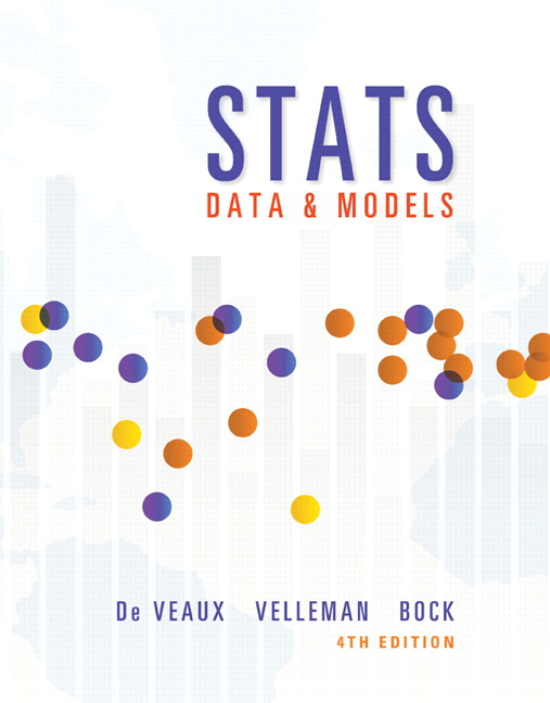 Stats: Data and Models Plus NEW MyLab Statistics with Pearson eText -- Access Card Package