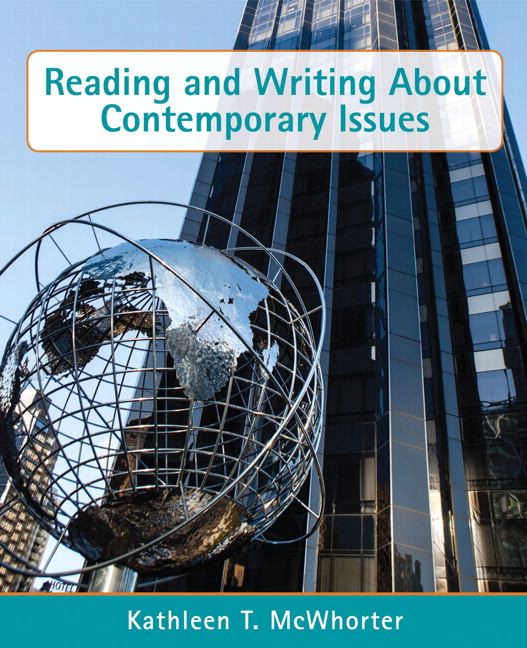 Reading and Writing about Contemporary Issues, Books a la Carte Edition