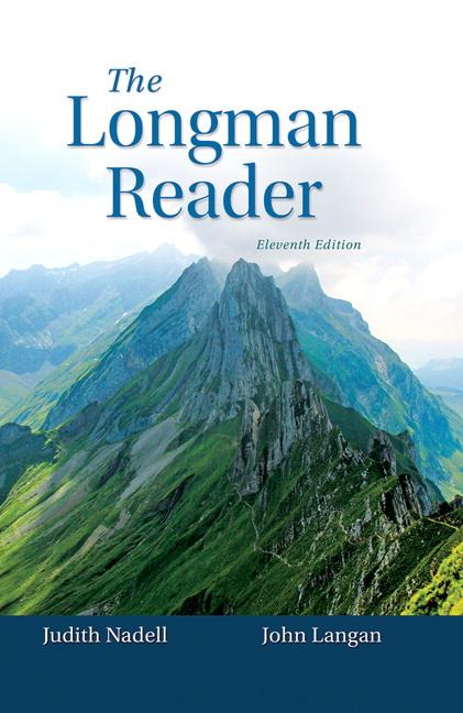Nadell langan longman reader the 11th edition pearson longman reader the fandeluxe Gallery