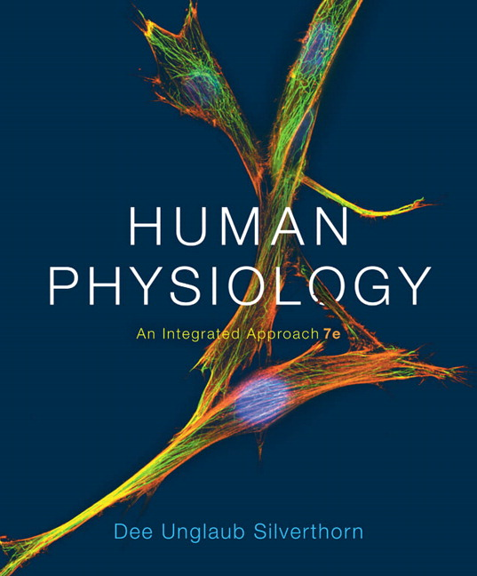 Silverthorn Human Physiology An Integrated Approach 7th Edition Pearson