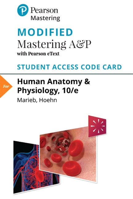 Modified Mastering A&P with Pearson eText -- Standalone Access Card -- for Human Anatomy & Physiology