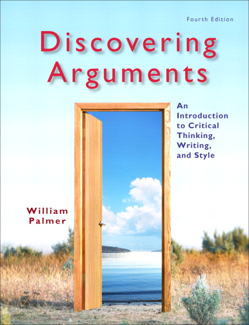 Palmer discovering arguments an introduction to critical discovering arguments an introduction to critical thinking writing and style plus mylab writing access card package 4th edition fandeluxe Images