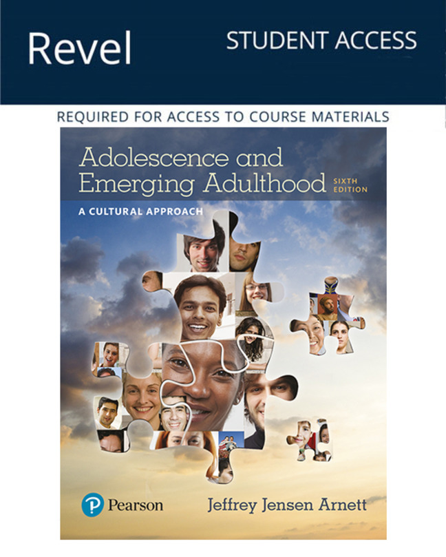 Revel for Adolescence and Emerging Adulthood: A Cultural Approach -- Instant Access