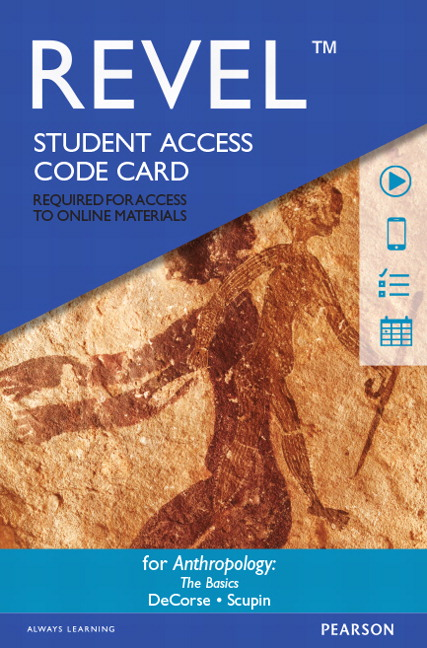 REVEL For Anthropology: The Basics, Anthropology    Access Card