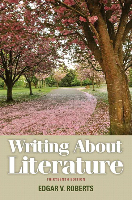 Roberts writing about literature 13th edition pearson writing about literature 13th edition fandeluxe Images