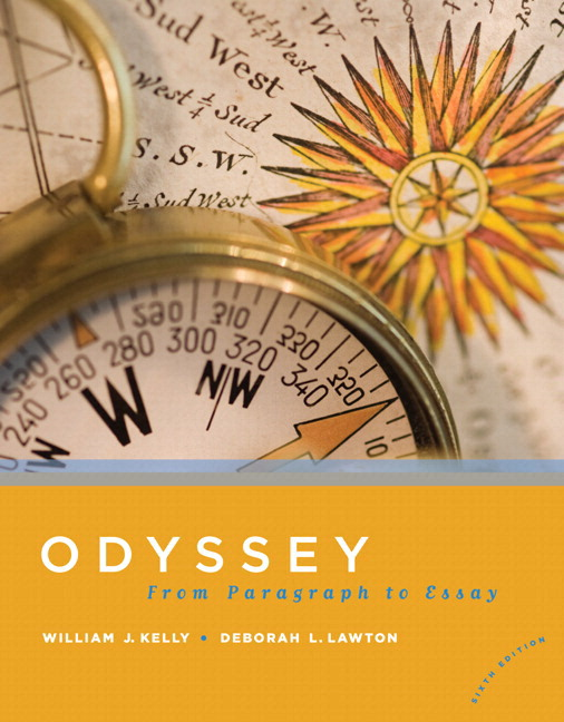 odyssey from paragraph to essay ebook Ex) the odyssey written by homer, there is an epic hero named odysseus who   this one sentence is where you state the topic of the essay.