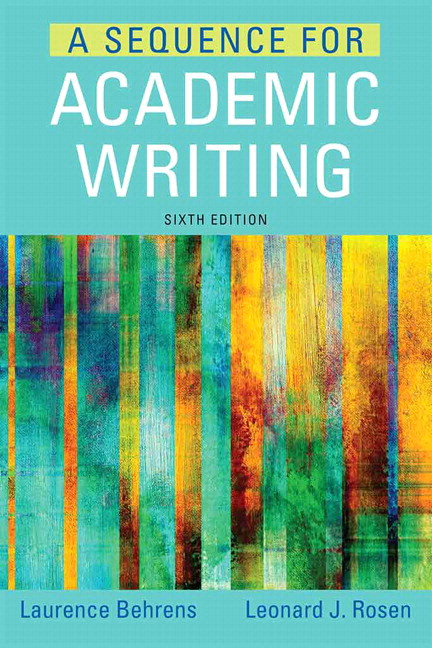 essay writing skills with readings 6th canadian edition Synopsis college writing skills with readings offers students a practical guide to becoming better writers from mastering the traditional five-paragraph essay and its variations to learning about the finer points of grammar and punctuation, college writing skills with readings empowers students to take control of their writing and put it to work for them.