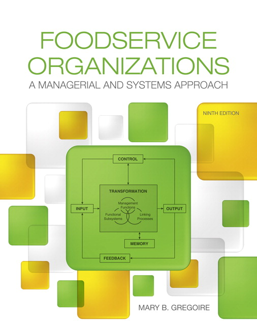 Gregoire foodservice organizations a managerial and systems book cover pearson book cover fandeluxe Image collections