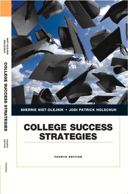 nist olejnik holschuh college success strategies pearson