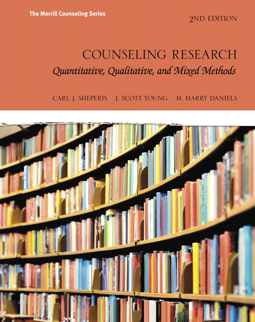 Counseling Research: Quantitative, Qualitative, and Mixed Methods (Subscription)